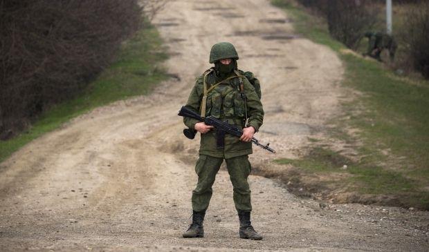 Солдат российской армии / REUTERS