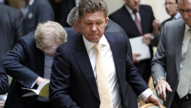 Миллер опять недоволен, что Украина не заплатила за газ