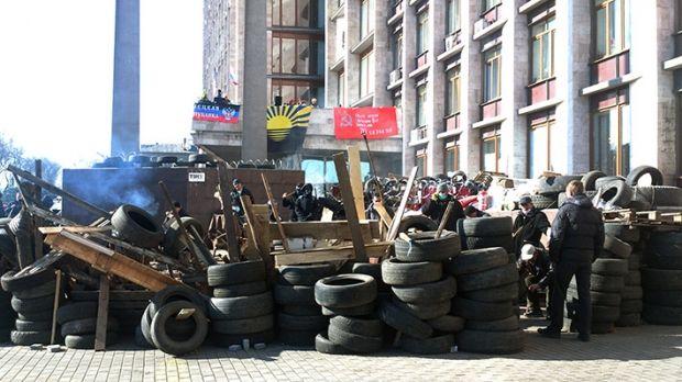 В МВД Донецка опровергают сообщения очевидцев / ostro.org