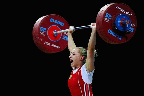 На Играх-2012 в Лондоне пробу на допинг провалила штангистка Юлия Калина / фото noc-ukr.org