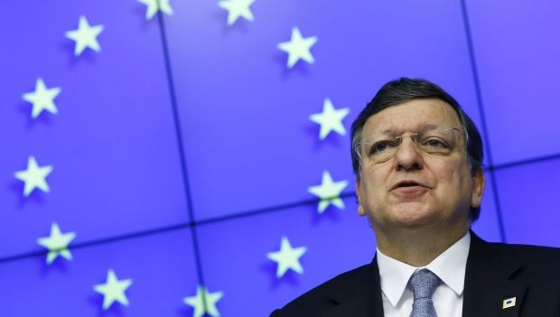 Barroso welcomes Poroshenko's willingness to engage in dialogue with Russia / REUTERS