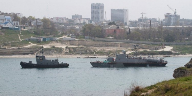 The Priluki missile boat relocated to Odesa / Photo from UNIAN