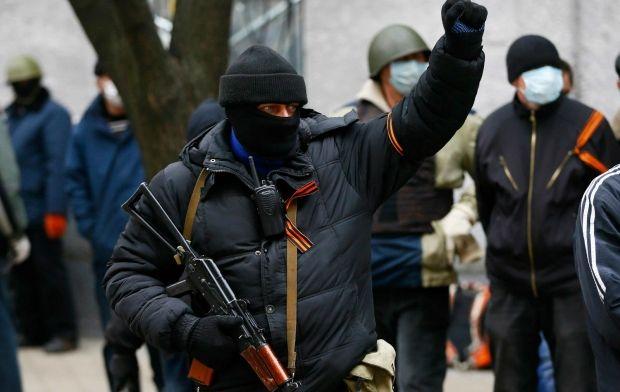 Россия поддерживает терроризм в Украине