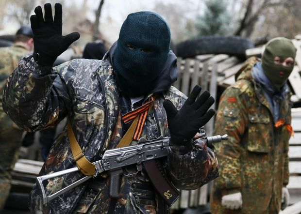 славянск сепаратисты донецк беспорядки / Reuters