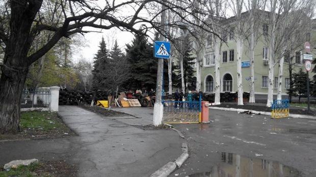 Задержанный участник захвата отдела милиции вКраматорске «слил» правоохранителям собственных  сообщников