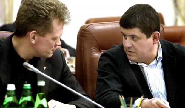 Глава Мининфраструктуры Максим Бурбак на очередном заседании Кабмина