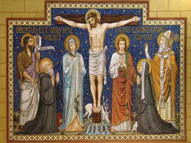 В этот день христиане воспоминают Крестные страдания и смерть Господа Иисуса Христа