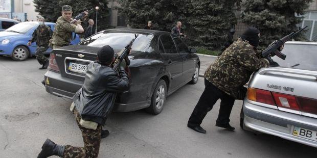 террористы луганская милиция / REUTERS