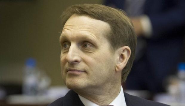 Наришкіну заборонено в'їзд до ЄС до 17 вересня з можливістю подовження