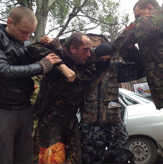 Раненый пилот вертолета / slavgorod.com.ua
