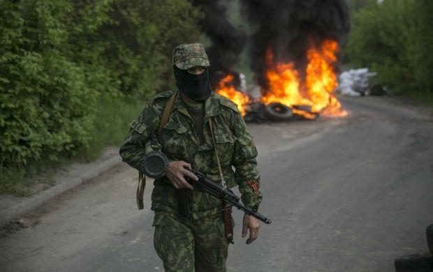 В Славянске в ходе антитеррористической операции сегодня один человек погиб, 15 – получили огнестрельные ранения. / REUTERS