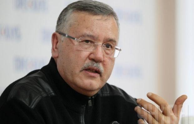 Гриценко каже, що влада усунула його від участі у київських виборах