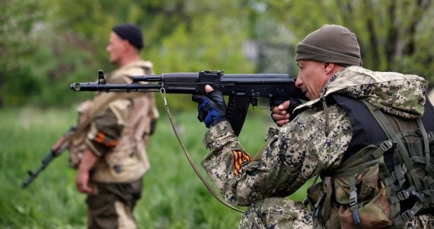 4 law-enforcement officers died, about 30 – got injuries in Slaviansk / REUTERS