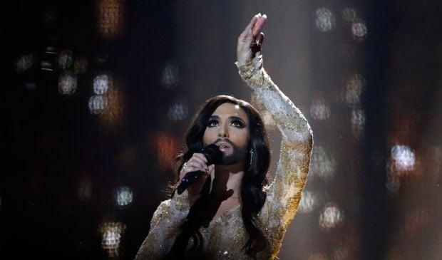 """Кончіта Вурст на """"Євробаченні"""" / REUTERS"""