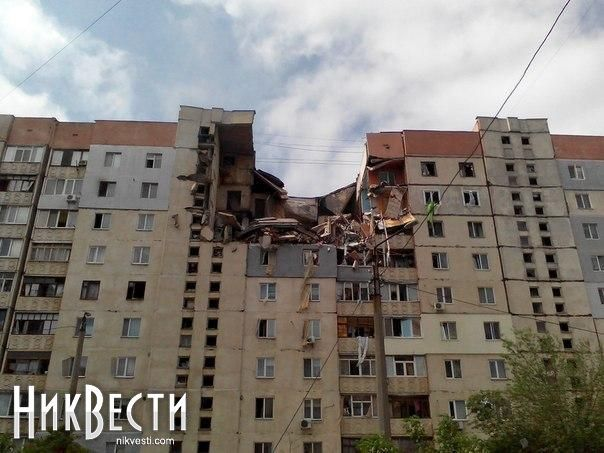 Blast in dwelling house in Mykolaiv: 1 person died, 5 people got injuries