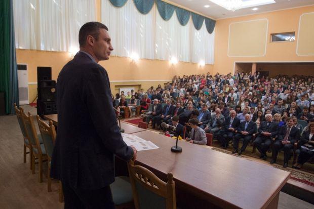 Кличко призвал всех прийти на выборы / klichko.org