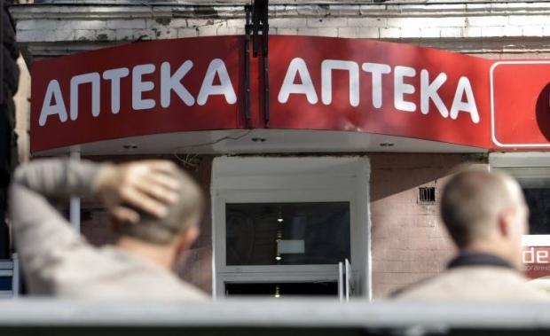 В центре Киева взломали аптеку / фото УНИАН