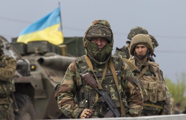 Ukrainian soldiers repel attack of terrorists on military unit in Artemovsk – Defense Ministry/REUTERS