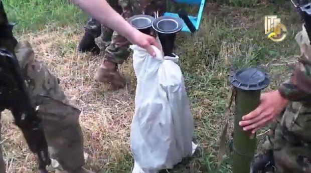 Українські військові вилучили у диверсантів зброю / Військове телебачення України