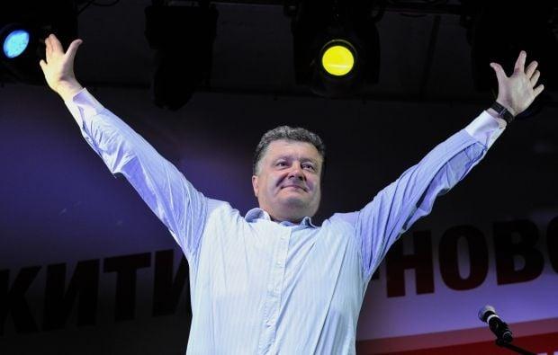 Победа Порошенко признана западными партнерами Украины