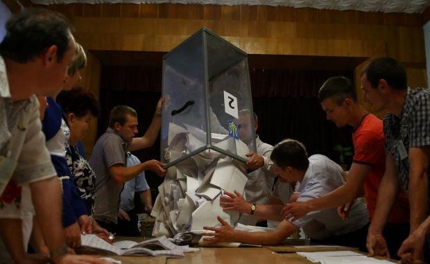 В Донецкой области проголосовало 100 тысяч человек