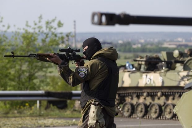 ATO active phase continues in Donetsk Oblast, more than 300 fighters eliminated – Seleznev / REUTERS