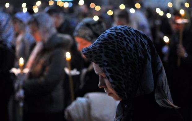 На Веры, Надежды, Любы и Софии женщины оставляют домашние дела и идут в церковь / Фото УНИАН