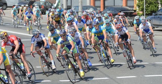 В первый день киевской велогонки доминировали украинские спортсмены / racehorizonpark.com