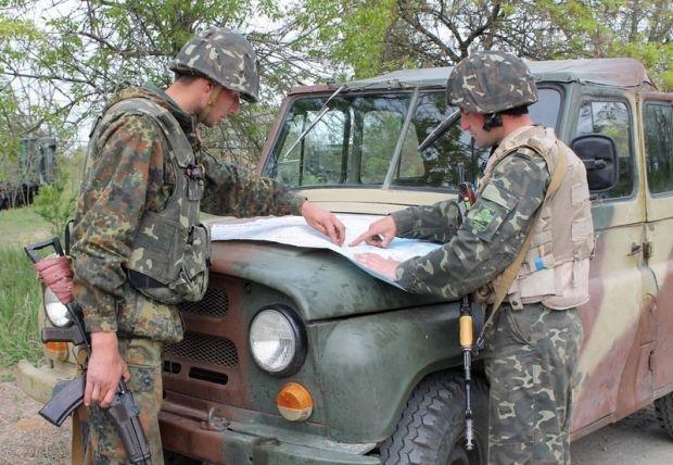 Украинские десантники патрулируют местность / Пресс-служба Минобороны