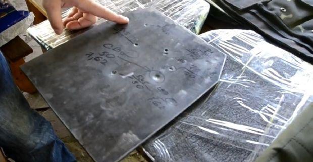 На Хортиці презентували новий бронежилет / Кадр из видео