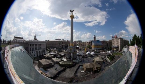 На Майдане Незалежности произошла перестрелка / Фото: УНИАН