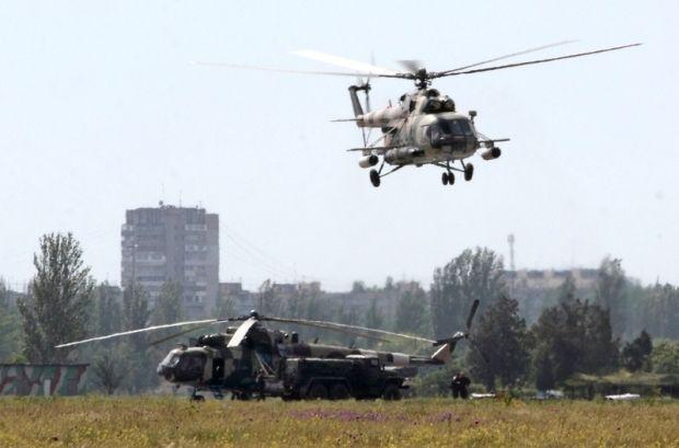 Украина будет сбивать вертолеты, которые будут нарушать границу / Фото пресс-службы Минобороны