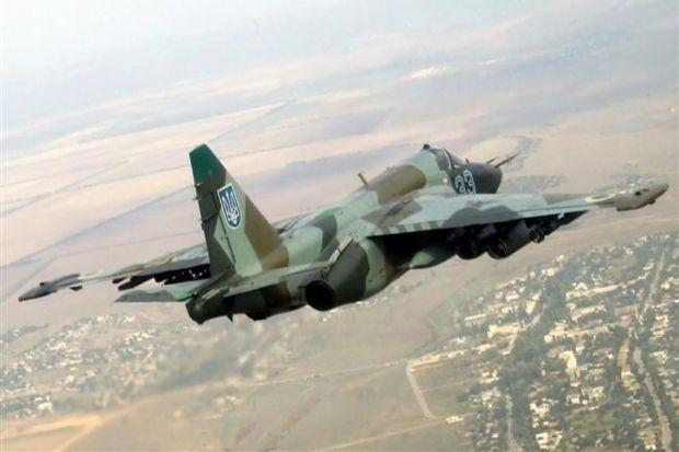 В Армении разбился Су-25 / фото пресс-служба Минобороны