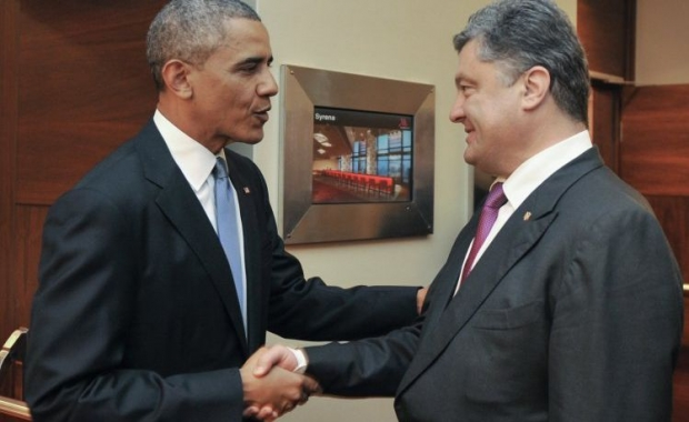 Obama and Poroshenko meet in Warsaw / Photo:UNIAN