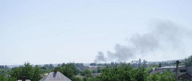 Силы АТО уничтожили базу боевиков возле Славянска / фото @Sloviansk