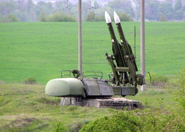 Бук-М1 готовий до бою / Міноборони України