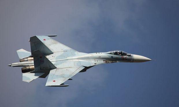 Российский Су-27 даже не пытался выйти на связь с американским самолетом / vitalykuzmin.net