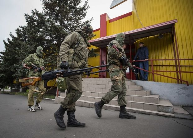478 civilians died, almost 1400 wounded during carrying out of ATO / REUTERS