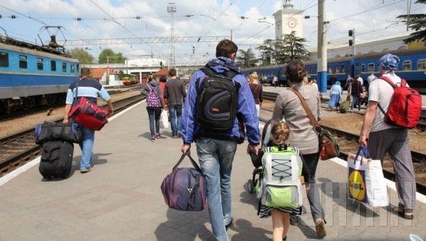 из это числа внутренне перемещенных лиц (ВПЛ) 169 тыс. 408 чел. составляют дети  / Фото: УНИАН