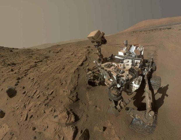 Curiosity заново учится бурить / Фото NASA/ JPL-Caltech/ MSSS
