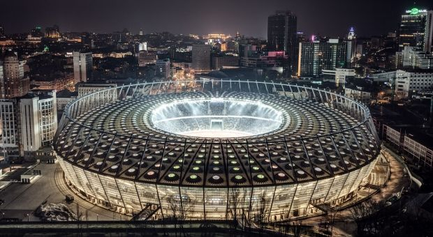 Olympic stadium considered as potential ESC-2017 venue / dynamo-kiev.com