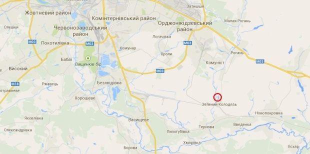 Скріншот Google maps