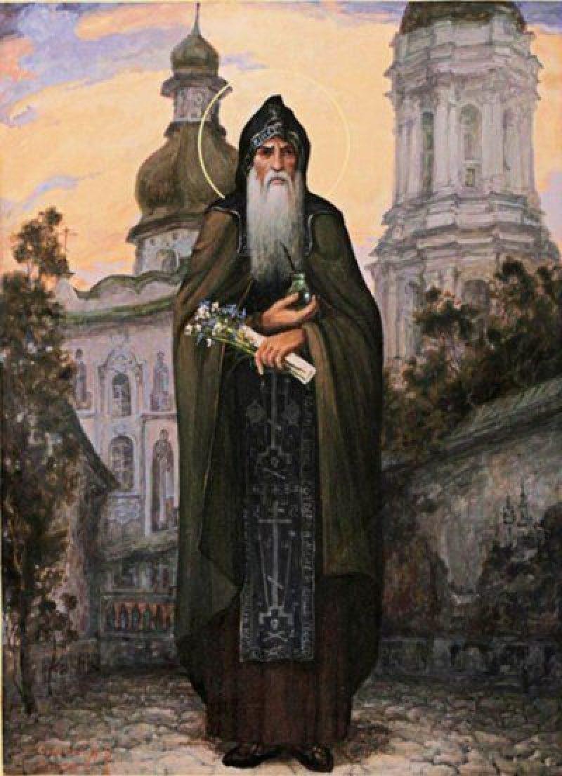 Преподобный врач Агапит Киево-Печерский