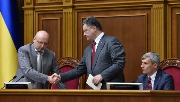 Украина тратит 70 млн гривень в день на проведение АТО - Порошенко / фото пресс-службы президента Украины