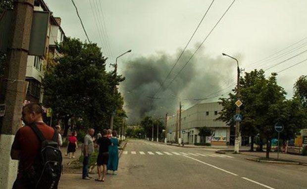 луганск, пожар / 0642.ua