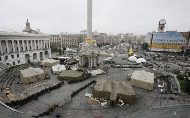 На Майдані відбулася бійка / УНІАН