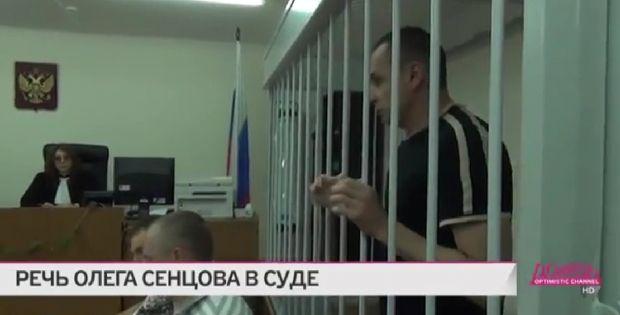 Олег Сенцов обратился с просьбой помочь подтвердить украинское гражданство / скриншот телеканал Дождь
