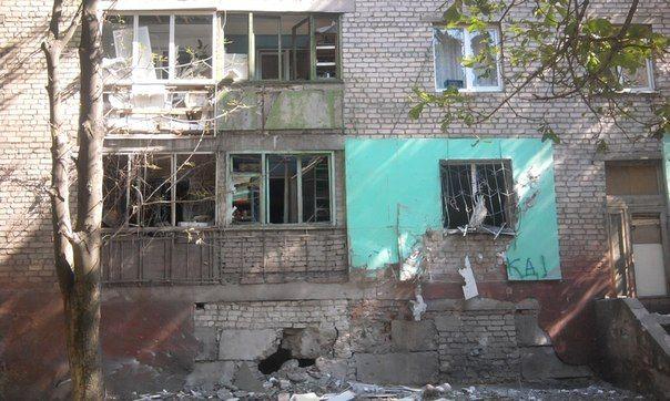 Боевики оккупировали Луганск в 2014 году / фото vk.com/lugansk_city