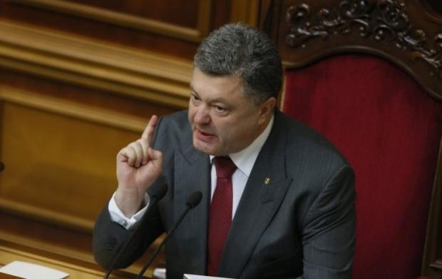 Порошенко обіцяє дострокові вибори / Фото УНІАН