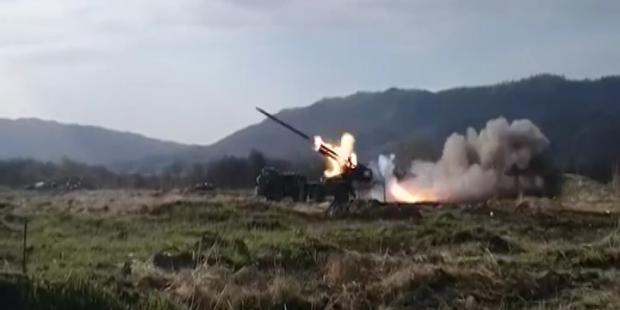 Боевики обстреливают Артемовский район